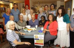 A tea party with Heidi Alexander MP and Local Carers