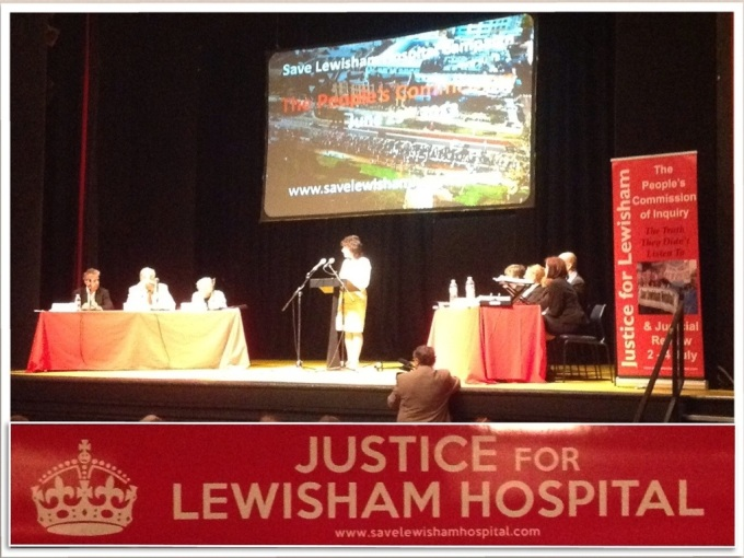 Justice for Lewisham Hospital Week - Catford Broadway Theatre