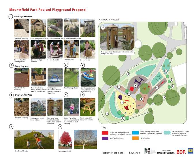 Mountsfield Park Redevelopment Update